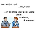 Introduction to Claim-Evidence-Warrant Essay Writing