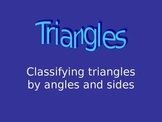 Introduction to Classifying Triangles