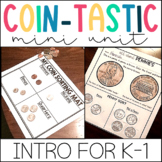 Money Activities-Identifying and Counting Coins Unit