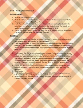 Introduction to Colonial America Lesson Plan