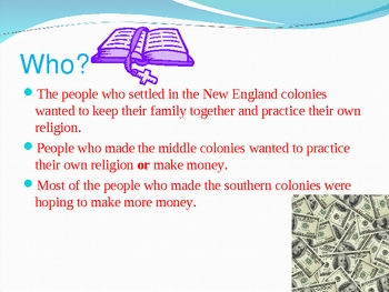 Introduction to Colonial America PPT - Great for 1-5
