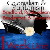 Colonial Literature and Puritanism Bundle for Eleventh Grade English