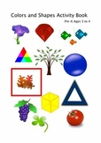 Introduction to Colors and Shapes Activity Book
