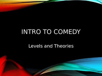 Introduction to Comedy
