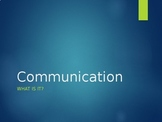 Introduction to Communication Powerpoint and game