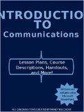 Introduction to Communications/ Speech (Editable)