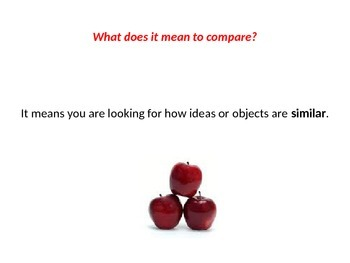 Introduction to Compare and Contrast