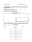 Introduction to Complex Numbers:  Guided Notes, Practice,