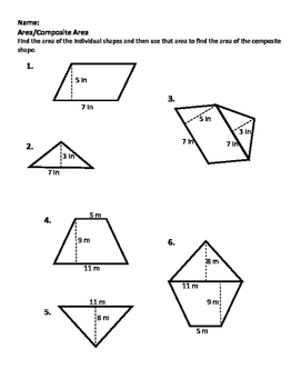 Introduction to Composite Area