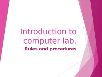 Introduction to Computer Lab