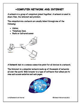 Introduction to Computer Network (Lower Elementary)