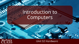 Introduction to Computers: Lesson 2 Computer Hardware (w/