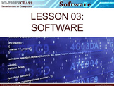 Introduction to Computers: Lesson 3 Computer Software (w/