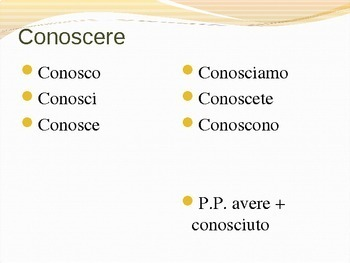 Introduction to Conoscere e Sapere Powerpoint