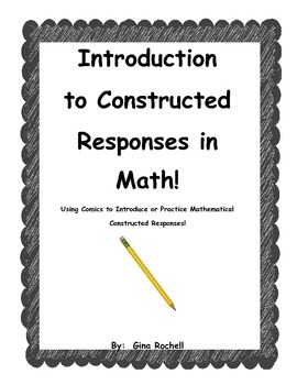 Introduction to Constructed Responses In Math