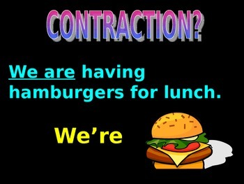 Introduction to Contractions