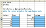 Introduction to Conversion Formulas in Excel