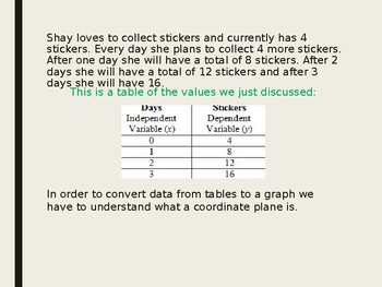 Introduction to Coordinate Grids PowerPoint