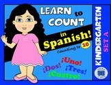 Spanish Numbers 1-10 - Kindergarten