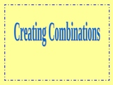 Introduction to Creating Combinations with Tree Diagrams-