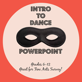 Introduction to Dance PowerPoint