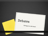 Introduction to Debates