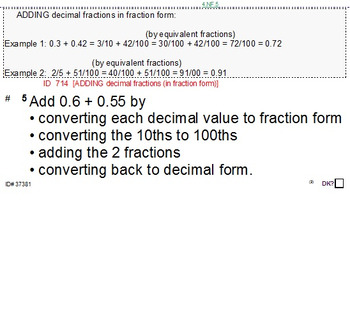 Grade 4 DECIMALS UNIT 2: [Adding; Subtracting]-4 worksheets, 7 quizzes