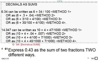 Grade 4 DECIMALS UNIT 2: [Adding; Subtracting]-4 worksheet