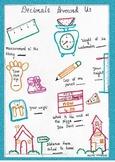 Introduction to Decimals Doodle Worksheet
