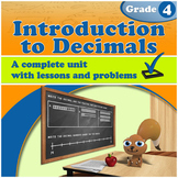 Introduction to Decimals, Grade 4 (Distance Learning)