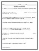 Introduction to Demand Assignment w/ Answer Key