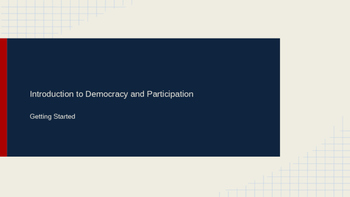Introduction to Democracy in Canada