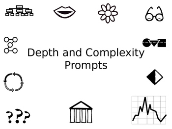 Introduction to Depth and Complexity Using Prompts