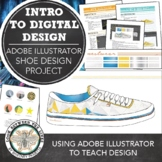 Introduction to Design & Adobe Illustrator: Design A Shoe Project
