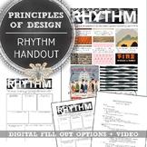 Introduction to Design, Principle of Design Handout, Rhyth