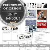 Introduction to Design, Principle of Design, Unity Handout