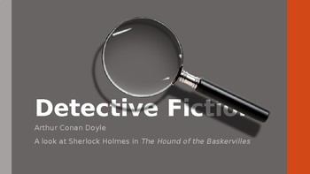 Introduction to Detective Fiction and Sherlock Holmes
