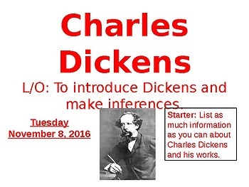 Introduction to Dickens and A Christmas Carol