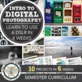 Introduction to Digital Photography Bundle Pack: 8 Lessons, 6 Week Curriculum