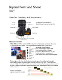 Introduction to Digital Photography Course - Beyond Point