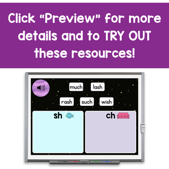 Introduction to Digraphs - Digital Phonics Activities   BOOM Cards™