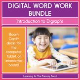 Introduction to Digraphs - Digital Phonics Activities   BO