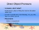 Spanish Direct Object Pronouns-Introduction