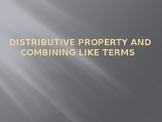 Introduction to Distributive Property and Combining Like Terms