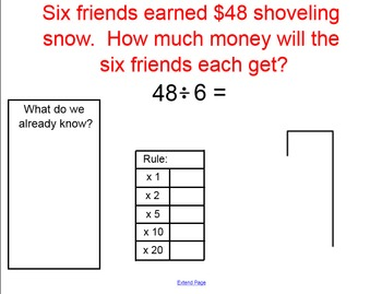 Introduction to Dividing with Partial Quotients