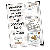 Introduction to Division Concepts using the text The Doorbell Rang