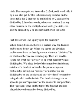 Introduction to Division for Gryffindors
