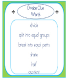 Introduction to Division using Word Problems