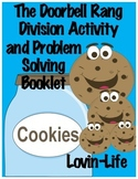 Introduction to Division with The Doorbell Rang Activity a