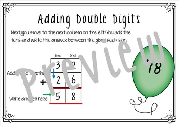 Introduction to Double Digit Addition Column Method